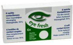 Eye Fresh zachte maandlenzen -4.50 - 6 stuks - Contactlenzen