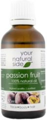 Your Natural Side Passion Fruit Oil, (Refined) 50ml. Pipette