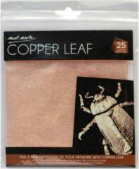 Mont Marte 25 vellen imitatie koper papier 14x14cm - decoupage papier