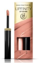 Roze Max Factor Lipfinity Lip Colour 2-step Long Lasting Lipstick - 006 Always Delicate