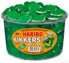 Groene Haribo kikkers snoep - 150 stuks