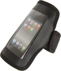 Zwarte Sportarmband/tasje M-WAVE voor Iphone/Smartphone