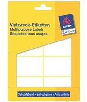 Avery Zweckform 3337 universele etiketten ft 54 x 35 mm (b x h), 224 etiketten, wit