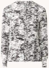 Gebroken-witte Vanilia Tuniek met grafische print