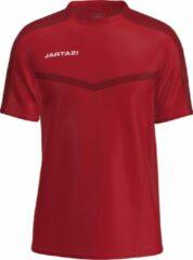 Jartazi Sportshirt Torino Junior Polyester Rood Maat 140