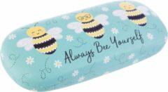Blauwe Sass & Belle Sass&Belle Brillendoos - Queen Bee