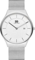 Zilveren Danish Design watches edelstalen herenhorloge Långeland Silver Large IQ62Q1259