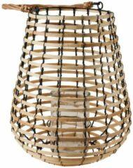 Xenos Lantaarn bamboe - ø30x36 cm