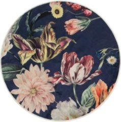 ESSENZA Filou Finest Vloerkleed Donkerblauw - rond Ø90 cm