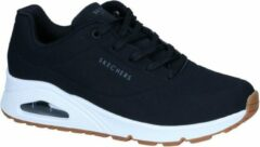 Zwarte SKECHERS sneakers met sleehak »Uno - Stand on Air«