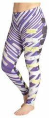 Paarse ZUMPREMA Metro Purple Sport Legging