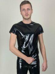 Zwarte Mr Riegillio Heren T-shirt Maat L