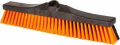 Oranje KERSTAANBIEDING - OrangeBrush - Combi bezem - 40 cm - harde en zachte haren - Gemaakt van gerecycled kunststof - OB20340