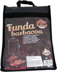 Gerimport Barbecuehoes 70 X 80 Cm Polyester Zwart/zilver