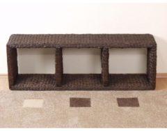 Möbel direkt online Moebel direkt online Regal 3 Fächer Handgeflochtenes Regal mit 3 Fächer In 3 Farben lieferbar