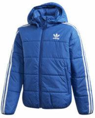 Adidas Originals gewatteerd jack blauw/wit