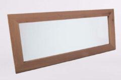 B-Stone Wood spiegel met eiken omlijsting naturel 120x50cm