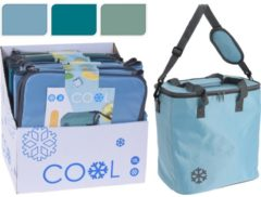 Merkloos / Sans marque Cooler bag lichtblauw