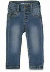 Blauwe Feetje! Meisjes Lange Broek - Maat 62 - Denim - Jeans