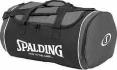 Antraciet-grijze Spalding Sporttas Tube L - Zwart / Grijs