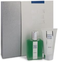 2 delige cadeau set Caron Pour Homme Sport Eau De Toilette Spray 75ml + Shower Gel 75ml