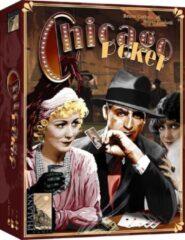 Bruine 999 Games kaartspel Chicago Poker 27,5 x 19,5 cm 112-delig