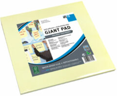 Info Notes 300x300mm Giant Pad geel blok a 50 vel