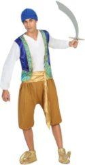 BigBuy Carnival Verkleedkleding voor volwassenen - Arabische Man Gold