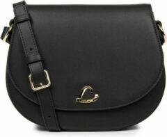 Schouder/Crossbody tas LANCASTER Paris City Philos - leer - Zwart