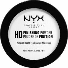 NYX Professional Makeup NYX PMU Professional Makeup High Definition Finishing Powder - Translucent HDFP01 - Finishing Powder - 8 gr