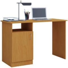 Schreibtisch Computertisch Arbeitstisch Büro Möbel PC Tisch 'Desas' VCM Buche
