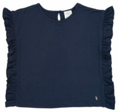 Blauwe T-shirt Korte Mouw Carrément Beau KAMILLIA