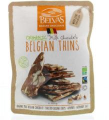 Belvas Belgian Thins Melk Kokos Amandel