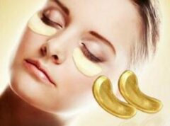 Gouden Merkloos / Sans marque Crystal Collagen Gold Powder - Oogmasker