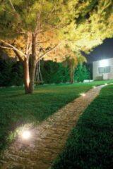 Roestvrijstalen Bel Lighting Zaxor Led-O BL 2408.W033.16 Geborsteld roestvrij staal