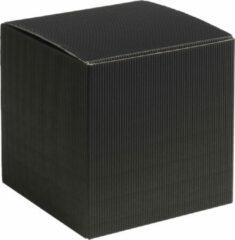 Papyrasse Geschenkdoosjes vierkant-kubus karton 15x15x15cm ZWART (100 stuks)