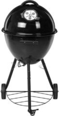 Huismerk Premium Barbecue Ei Stijl - Mat Zwart 48,3 x 48,3 x 94 cm