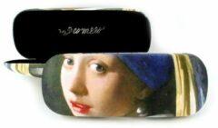 Zwarte LANZFELD Brillenkoker, Meisje met de parel, Vermeer