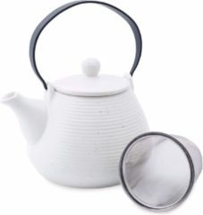 Witte Dt Theepot - Theepot Wannabe White - Theepot Keramiek 650 ml