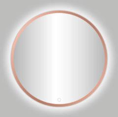 Best Design Lyon Venetië ronde spiegel rose goud mat incl.led verlichting Ø 60 cm 4009050