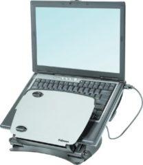 Zwarte Fellowes laptop standaard professional series metaal, 3 hoogtes