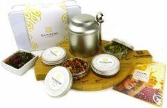 Dutch Tea Maestro - Thee cadeau - Zelf thee blenden pakket voor thuis - HAPPY Premium Thee Pakket - losse thee - origineel cadeau