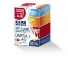 Omega 3 Act 60 Perle 60prl 540mg integratore alimentare per la funzione cardiaca cerebrale e visiva CODEFAR