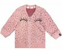 Beebielove! Meisjes Vest - Maat 50 - Roze - Katoen/elasthan