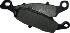 Zwarte Motor remblokken achterzijde Suzuki M 1800 Intruder 2006 - 2015 M1800 R R2 RZ RB VZR1800 YMP231 remblok rem achter