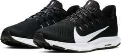 Witte Nike Quest 2 Heren Sportschoenen - Black/White - Maat 44
