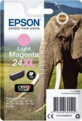 Roze Epson 24 - Inktcartridge / Magenta