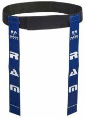RAM Rugtby Tag Rugby Riem Set - de beste op de markt - Blauw Small