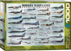 Eurographics puzzel Modern Warplanes - 1000 stukjes