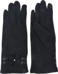 Juleeze Melady Handschoenen Winter MLGL0032Z 8*24 cm - Zwart Synthetisch Handschoenen Dames